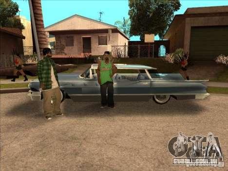 Buick Santiago para GTA San Andreas traseira esquerda vista