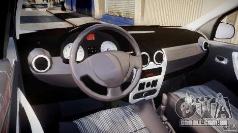 Dacia Logan v1.0 para GTA 4 vista direita