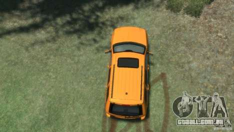 Jeep Grand Cherokee SRT8 para GTA 4 vista de volta