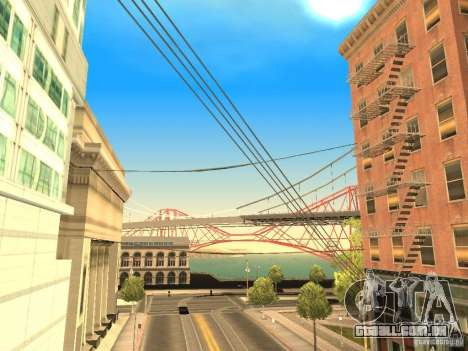 New Sky Vice City para GTA San Andreas quinto tela