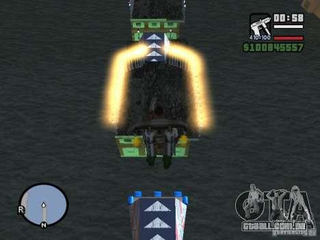 Night moto track para GTA San Andreas segunda tela
