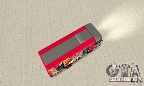 Bogdan A091 para GTA San Andreas traseira esquerda vista