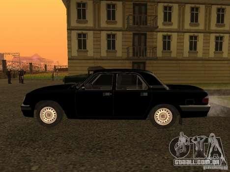 GAZ Volga 31105 para GTA San Andreas esquerda vista