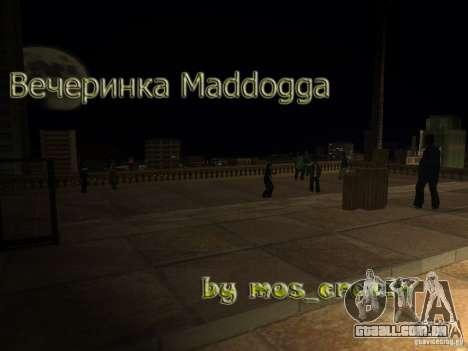 Festa Madd Doga para GTA San Andreas