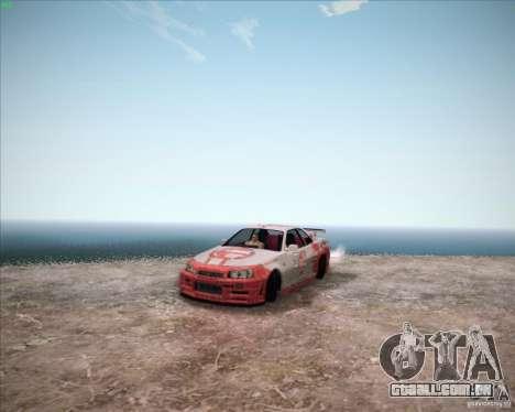 Nissan Skyline Z-Tune v2.0 para GTA San Andreas vista direita