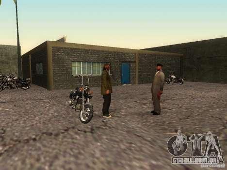 A escola realista motociclistas v 1.0 para GTA San Andreas sexta tela