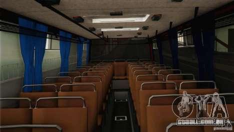 IKARUS 255.01 para GTA San Andreas vista interior