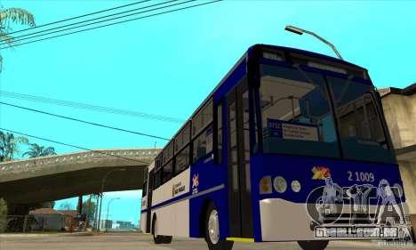 CAIO Alpha Mercedes-Benz OH-1420/51 Sao Paulo para GTA San Andreas vista traseira