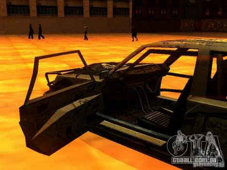 CHILI from FlatOut 2 para GTA San Andreas vista traseira