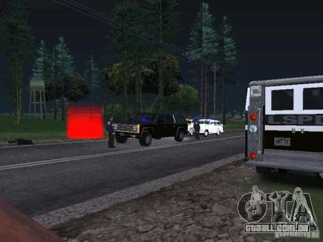 Police Post para GTA San Andreas terceira tela