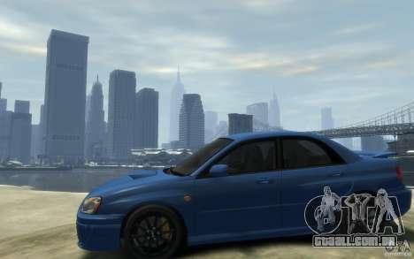 Subaru Impreza WRX STi v1 2004 para GTA 4 esquerda vista