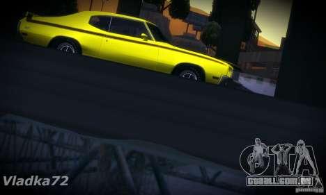 Buick GSX 1970 v1.0 para GTA San Andreas vista traseira