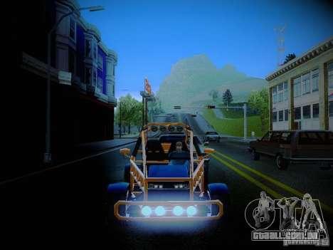 Buggy From Crash Rime 2 para vista lateral GTA San Andreas