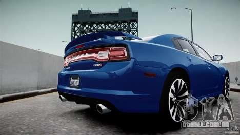 Dodge Charger SRT8 2012 para GTA 4 vista direita
