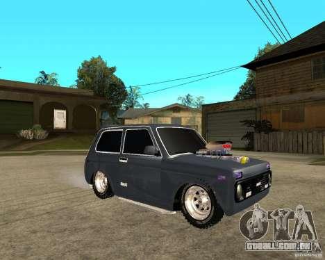 NIVA Mustang para GTA San Andreas vista direita