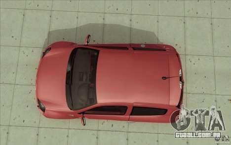 Renault Clio V6 para GTA San Andreas vista direita