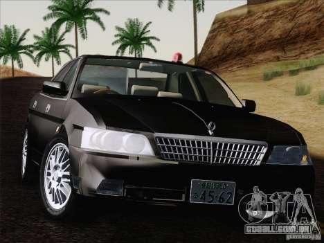 Nissan Laurel GC35 Kouki Unmarked Police Car para GTA San Andreas vista direita