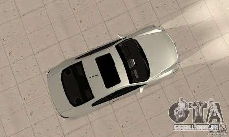 Nissan Skyline 350GT 2003 para GTA San Andreas vista direita