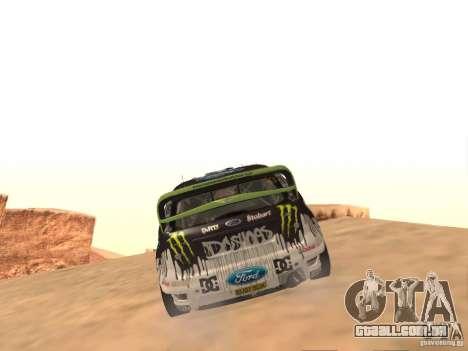 Ford Focus RS2000 v1.1 para GTA San Andreas vista direita