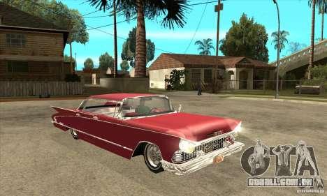 Buick LaNuit para GTA San Andreas vista traseira