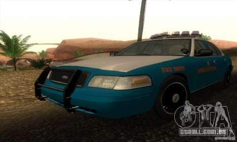 Ford Crown Victoria Georgia Police para GTA San Andreas