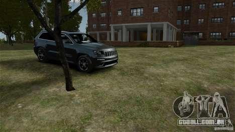 Jeep Grand Cherokee SRT8 para GTA 4 vista direita