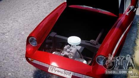 FSO Syrena Sport 1960 para GTA 4 vista superior