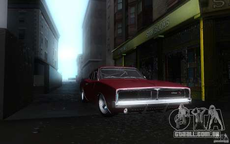 Dodge Charger RT 69 para GTA San Andreas vista interior