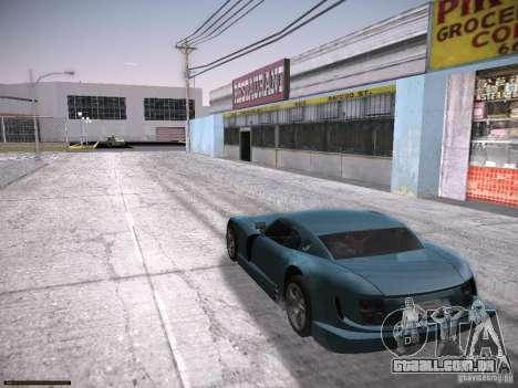 TVR Cerbera Speed 12 para GTA San Andreas traseira esquerda vista