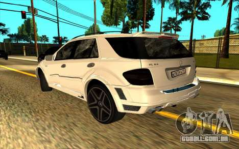 Mercedes-Benz ML63 AMG W165 Brabus para GTA San Andreas