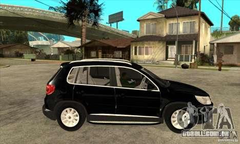 Volkswagen Tiguan 2.0 TDI 2012 para GTA San Andreas vista interior
