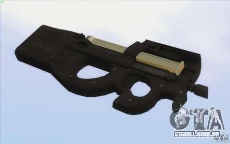 Low Chrome Weapon Pack para GTA San Andreas décimo tela