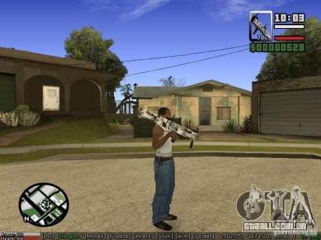 Armas de Pak para GTA San Andreas sétima tela