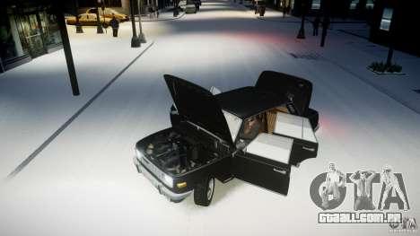Wartburg 353 W Deluxe para GTA 4 vista de volta