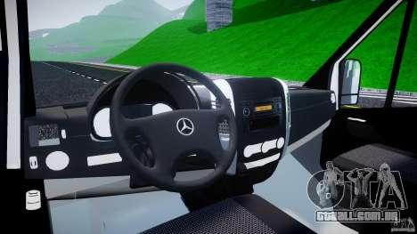 Mercedes-Benz Sprinter Euro 2012 para GTA 4 vista direita