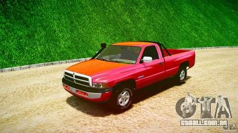 Dodge Ram 2500 1994 para GTA 4 vista interior