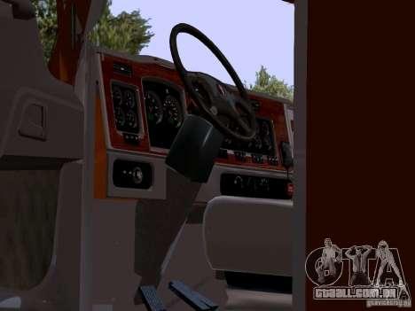 Kenworth T2000 para GTA San Andreas vista direita