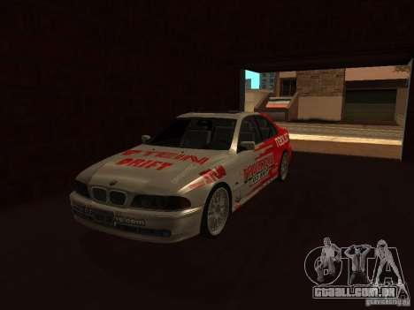 BMW 5-er E39 v2 para GTA San Andreas