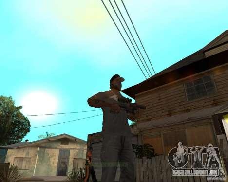Shotgun in style revolver para GTA San Andreas