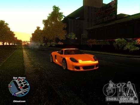 Porsche Carrera GT 2003 para GTA San Andreas esquerda vista