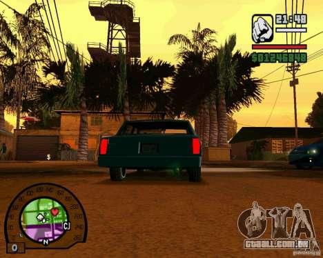 IV High Quality Lights Mod v2.2 para GTA San Andreas por diante tela