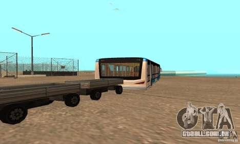 Design X XAPGL para GTA San Andreas traseira esquerda vista