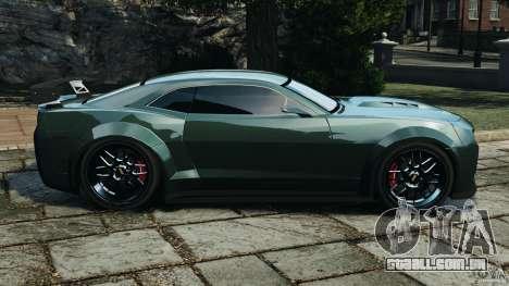 Chevrolet Camaro SS EmreAKIN Edition para GTA 4 esquerda vista