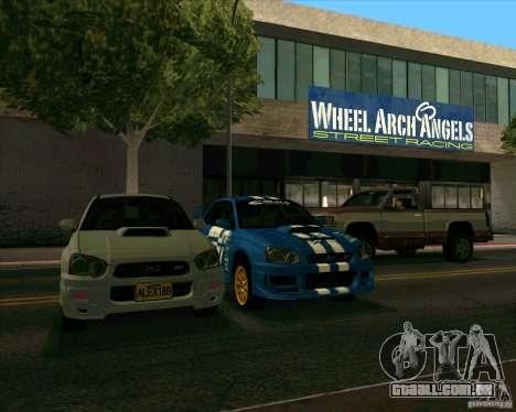 Subaru Impreza WRX STi Tunable para GTA San Andreas vista direita