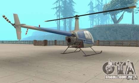 Robinson R22 para GTA San Andreas