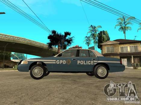 2003 Ford Crown Victoria Gotham City Police Unit para GTA San Andreas