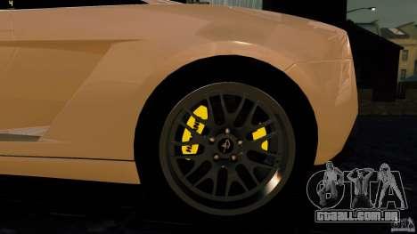 Lamborghini Gallardo Hamann para GTA 4 vista de volta