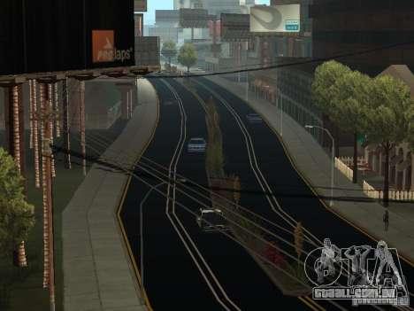 New Roads in San Andreas para GTA San Andreas segunda tela