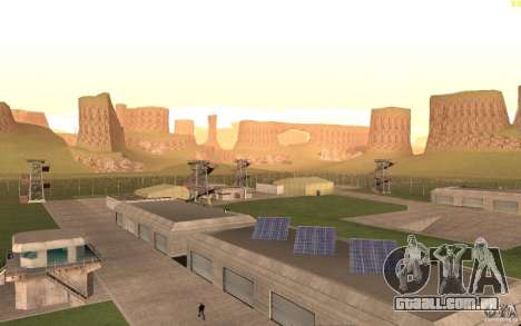 New desert para GTA San Andreas quinto tela