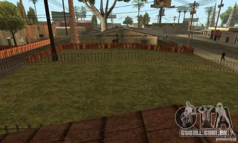Grove Street 2013 v1 para GTA San Andreas sétima tela